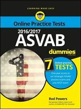 2016/2017 ASVAB for Dummies with Online Practice by Rod Powers (2016, Paperback)