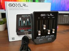 TC Helicon GO XLR Mini Broadcaster Platform with Mixer Audio Interface Digital