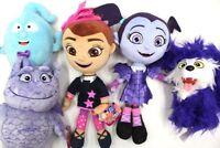 New Disney Junior Vampirina Lot of 5 Plush Stuffed Demi Wolfie Gregoria Poppy