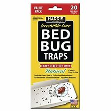 Harris Early Detection Bed Bug Glue Traps (20/Pack)