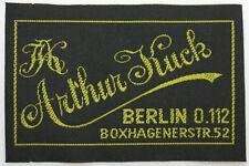 WW2 GERMAN OFFICER UNIFORM LABEL FROM BERLIN TAILOR