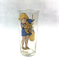 "Vintage 1977 Pepsi Collectors Glass Walt Disney Penny ""The Rescuers"" Series"