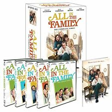 All In The Family Complete Series DVD Set TV Show Seasons 1 2 3 4 5 6 7 8 9 Box