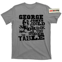 George Jones Walls Can Fall Cold Hard Truth Nashville Country Music CD T Shirt