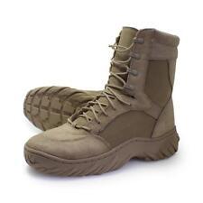 "Oakley SI Assault Boot 8"" Size 9.5 Desert Khaki Elite Force Army Military Shoes"