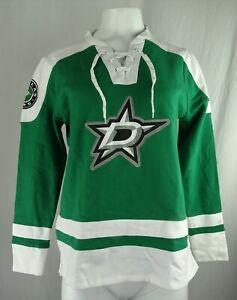 Dallas Stars NHL Majestic Women's Lace-Up Sweatshirt