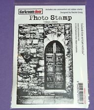Darkroom Door Rubber Photo Stamp, Little Door, DDPS001
