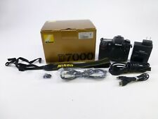 Nikon D7000 w/ a Shutter Count of 35,543 and w/ OEM Box, Battery, Charger, in EC