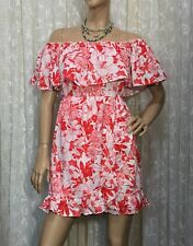 ATMOS&HERE SIZE 14 FLORAL ON & OFF THE SHOULDER WRAP DRESS NWOT