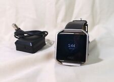 Fitbit FB502GMBKL Blaze Smart Fitness Watch Large Gunmetal Series