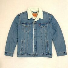 Levi's Men Sherpa Lined Trucker Jacket size XXL new with tags