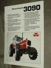 Prospectus MASSEY FERGUSSON 3090  Tracteur tractor traktor brochure prospekt