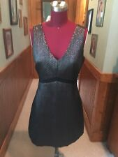 GORGEOUS BARELY WORN LITTLE BLACK DRESS SIZE SMALL FROM LUSH ANTHROPOLOGOE