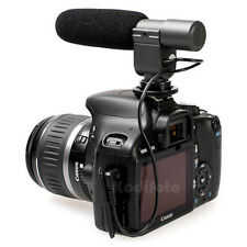 JJC MIC-1 Micrófono Estereo Nikon D7000 D5100 D3s D300s D90 D3100