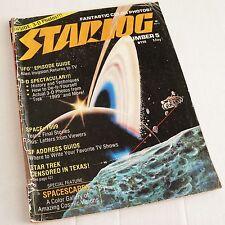 STARLOG - May 1977. STAR TREK / SPACE 1999 / UFO / SCI-FI / SCIENCE FICTION MAG