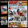 MOTO JOURNAL N°1853 KTM 990 ADVENTURE HONDA VFR 800 RC 30 24 HEURES DU MANS 2009