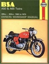 BSA A50 and A65 Twins, 1962-73 (Owners Workshop Manual)-ExLibrary