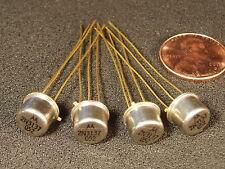Qty 4: Genuine Motorola 2N3137 RF Power Transistor Gold Leads Free USA Shipping