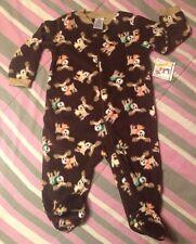 Garanimals Footed Sleep and Play Pajamas NWT NEW long sleeve BOY 6/9 months Baby