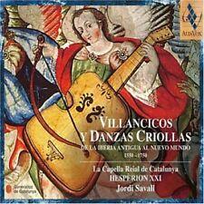 Jordi Savall - Villancicos y Danzas Criollas [New CD]