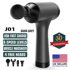 Massage Gun, Handheld Massagers Deep Tissue Percussion Muscle Massager