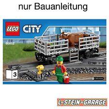 LEGO® Bauanleitung, Bauplan, Anleitung 60052 Nr.3 NEU
