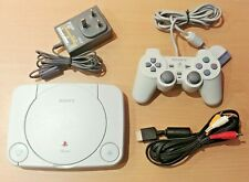 Sony Playstation PSOne PS1 Console (1x Controller, 1x AV Cable, 1x AC Adapter)