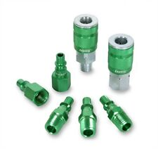Legacy A71457B Color Connex Type B 7 Piece 1/4 in. Green Coupler and Plug Kit