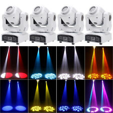 80W 4Pcs Rgbw Moving Head Stage Lighting Gobos Beam Led Light Dmx Party Dj Disco