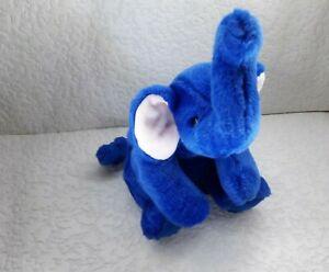 Ty Beanie Buddy Buddies Peanut Blue Elephant