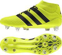 adidas Ace 16.1 Primeknit Soft Ground Mens Football Boots - Yellow