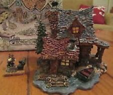Rare- Boyds Bearly Built-Villages -Bears Den- Edmund'S Hidaway #19005 (Mib)