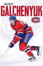 ALEX GALCHENYUK - MONTREAL CANADIENS POSTER - 22x34 NHL HOCKEY 2105