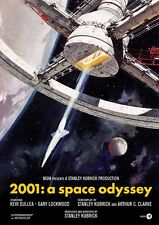 2001 A Space Odyssey movie poster print - Stanley Kubrick  : 11 x 17 inches