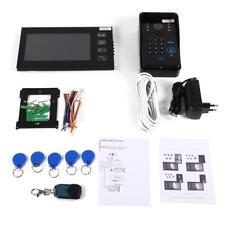 """7"""" Video Türsprechanlage Intercom Türklingel RFID Nachtsicht Home Sicherheit ♥"""