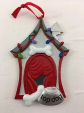 Dog House Personalize it Yourself Christmas Tree Ornament