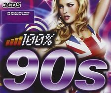 100 PERCENT 90'S - FREESTYLERS, BOB SINCLAR, PHATS & SMALL - 3 CD NEU