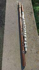 Bb Bass Bansuri flute.