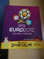 Panini Sammelalbum EURO 2012  fast Komplett 59 Bilder fehlen