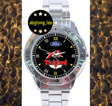 NEW Ford XR Tickford Muscle Car CUSTOM CHROME MEN'S WATCH WRISTWATCHES
