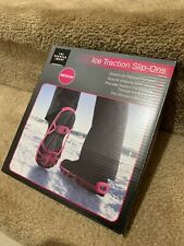 Ice Traction Slip-Ons The Sharper Image Medium Pink Woman-New-