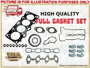 FULL GASKET SET - Holden Shuttle WFR 2.0 Lt 1985-1991 Engine: 4ZC1