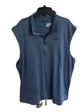 Nike Tour Premium Vest Nike Slim Fit Polo Pro Stay Warm Vest T-Shirt Mens Xl