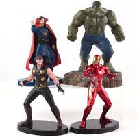 Marvel Avengers Infinity War Hulk Iron Man Thor Doctor Strange PVC Statue Figure