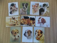 Swap playing cards    10  Modern Wides  Dogs   #D32