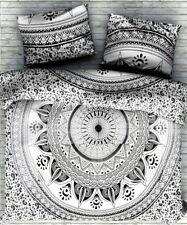 Traditional Indian Mandala Bedspread Duvet Coverlet Floral Comforter Blanket Art