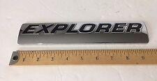 EXPLORER acrylic emblem chrome badge sign P/N 6L24-78001B46-AA