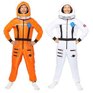 Adults Astronaut Fancy Dress Spaceman Costume Spacesuit Book Week Mens Ladies