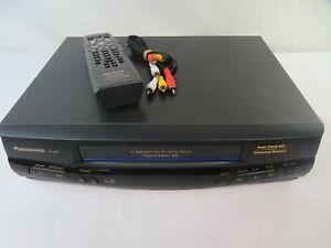 Panasonic PV-8450 4Head HiFi Stereo Video Cassette Recorder/VCR w/ Remote