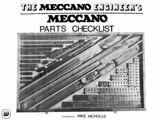 Meccano Parts Checklist